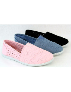 Womens Canvas Flat Shoes...