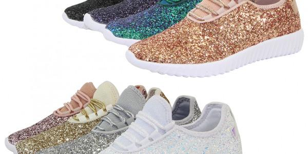 Women Glitter Sneakers