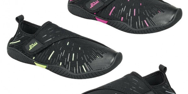 Women Quality Aqua Shoes Beach Swim Side Fold